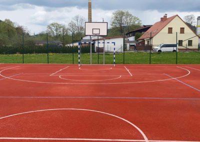 Budowa boiska szkolnego wLubawce