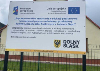 Fundusze Europejskie - realizacja projektu dla gminy Lubawka
