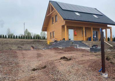 Budowa drewnianego domku